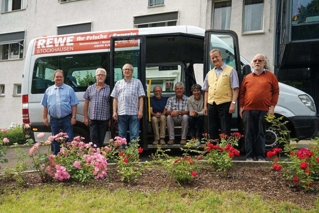 Der Vorstand vom BürgerBusVerein Mettmann